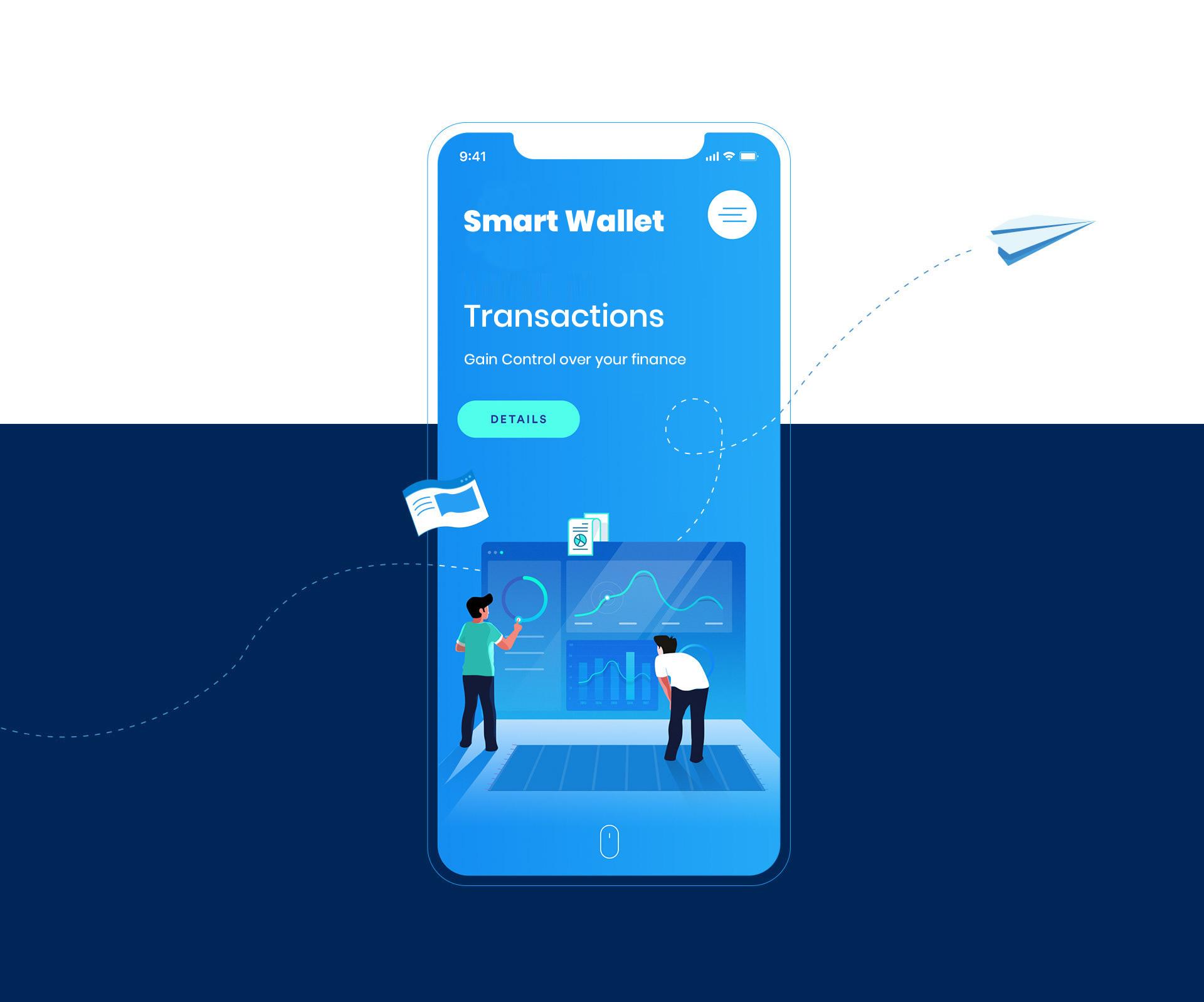 smart wallet app